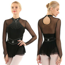 Ice Figure Skating Dress Customized Crystallization Adult Medium