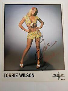 Wcw autograph Torrie Wilson 1999