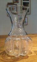 Rear Vintage Boda (Pre Kosta) Swedish Art Glass Vase Mid Century Modern