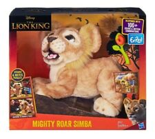 Disney The Lion King Mighty Roar Simba Interactive Plush Toy Hasbro Collectible