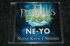 Ne-Yo Disney - Europe PromoCD / Never Knew I Needed / Princess and the Frog