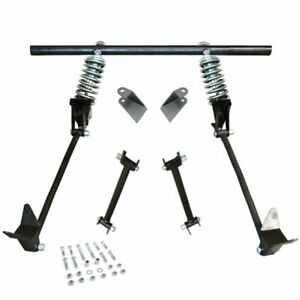 Triangulated Rear 4-link w/ Coilovers 31 1931 Model A Tudor, Fordor, Deluxe