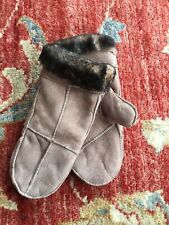 Faux Suede Winter Mittens BNWOT SIZE MEDIUM