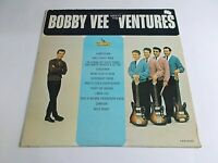 Bobby Vee Meets The Ventures LP 1963 Liberty Vinyl Record