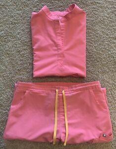FIGS scrubs set Pink women's Medium