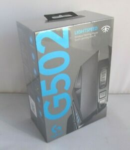 Logitech G502 Lightspeed Wireless Optical Gaming Mouse with RGB Lighting Black