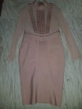 Peach Bandage Dress - House Of Celeb Boutique - Size M