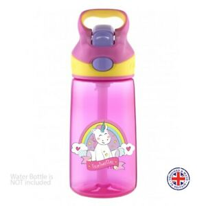 Personalised Kids Water Bottle Lunch Box Stickers School Name Labels Unicorn