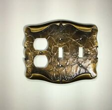 VTG Double Switch/Receptacle Plate Amerock The Carriage House Collection
