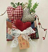 Primitive Valentine Hearts/Envelope/Farmhouse /Bowl Filler