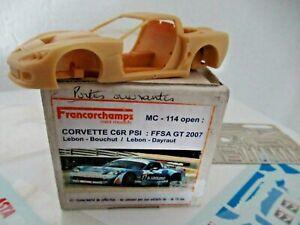 rare kit 1 43 CORVETTE C6R PSI FFSA GT 2007 Provence miniatures      amr record