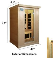 2 person Infrared Sauna Cabin. Carbon heaters. Light, speakers, radio. Saunamed