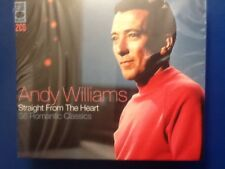 ANDY. WILLIAMS.     THIRTY SIX. ROMANTIC.  CLASSICS.     TWO DISC BOXSET