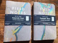 Field Notes Coastal Edition Memo Book - Draplin - Spring 2018 Quarterly Edition