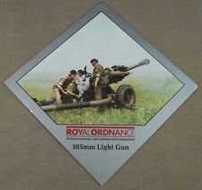 Military Defense Contractor Decal - Sticker Royal Ordnance Factories 105MM LG