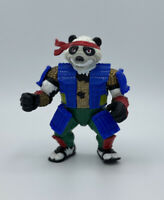 "Vintage 1990 Playmates Toys Ninja Turtles Panda Khan Figure-4"" Tall"