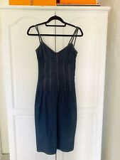 D&G Dolce & Gabbana Denim Dress, Sz 40