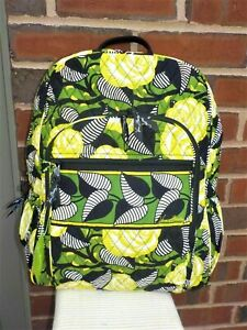 NWT Vera Bradley Campus Backpack La Neon Rose NEW