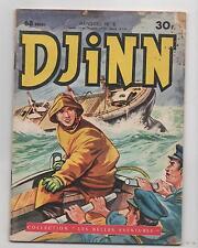 DJINN n°8. Petit format DEL DUCA. 1959. aventures du capitaine Rob.