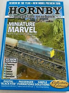 Hornby Magazine Yearbook 2016 No.8 Collecters Edition  - Hardback