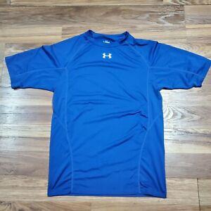 Under Armour Compression Heat Gear Short Sleeve Shirt Mens Sz LARGE