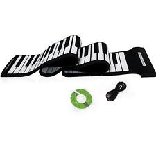 USB 88 Key MIDI Roll up Electronic Piano Keyboard Silicone Flexible Professional