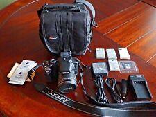 Nikon COOLPIX P510 16.1MP 42X Digital Camera - Black (Extras / Excellent)