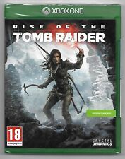 RISE OF THE TOMB RAIDER / Jeu XBOX ONE / NEUF SOUS CELLO