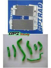 For KAWASAKI KX250F KXF250 KXF 250 09 10 2009 2010 Aluminum Radiator+hose