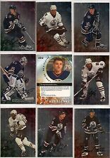 1998-99 ITG BAP Be A Player Complete Signature Edmonton Oilers Team Set (10)