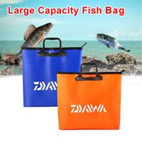 Large Waterproof EVA Fishing Bag Zip Accessory Deluxe Net Bag Outdoor Handbag UK