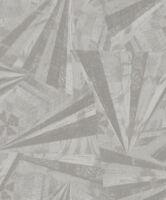 Tapete, Designtapete, VLIES, Prägung, Scherben, Glanz, Taupe, Grau, Silber