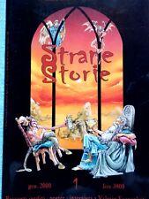 RIVISTA: STRANE STORIE 1 - NARRATIVA MACABRA E FANTASTICA - LO STREGATTO 1/2000