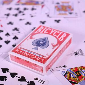 EE_ SECRET MARKED POKER SEE THROUGH PLAYING CARDS DECK   TRICKS SUPPLIE