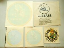 Vietnam Period SEABEE Decals and Transfers 4 Decals, 1 Ken Nolan Transfer