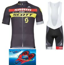 "TEAM SCOTT SRAM NINO SCHURTER Cycling Pro Bike Set 9d Gel Pad ""SUPER PRICE"""
