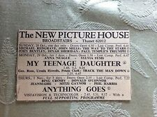 a2i ephemera 1956 advert broadstairs picture house anna neagle my teenage daught