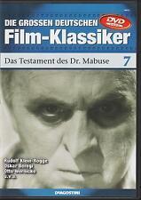 DVD: Das Testament des Dr. Mabuse (1933) - sehr guter Zustand