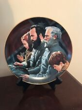 Danbury Mint The Generals Were Brought To Tears Collector Plate Box A637