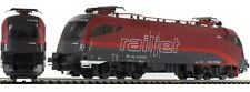 PIKO HO scale ~ 'RAILJET' ELECTRIC LOCO ~ 1/87 DC analog suit Roco, Fleischmann