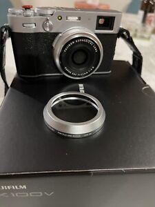 Fujifilm X100V with uv filter. As new with Fujifilm Australia warranty