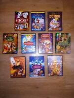 Kids Disney 10 x DVD bundle Dumbo Aladdin Lion King Fantasia 101 Dalmatians