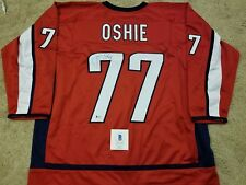TJ OSHIE Signed Washington Capitals Red BRAND NEW Hockey Jersey XL w COA