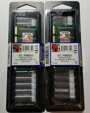 NEW Kingston 1GB Kit- 2x 512MB DDR PC2100S 266mhz CL2.5 SODIMM Laptop Memory RAM