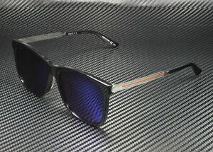 GUCCI GG0078SK 001 Black Men's Authentic Sunglasses 56 mm