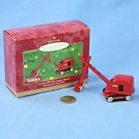 Hallmark Tonka 1955 Steam Shovel Keepsake Ornament in Original Box NOS