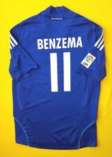 4/5 Berzema Real Madrid jersey small 2008 2009 away shirt Adidas soccer ig93