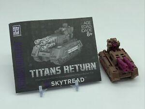 Transformers Titans Return Titan Master Skytread Complete