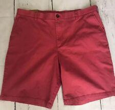 "NEW Men's Izod Shorts 40 Waist x 10"" Inseam Pink/Salmon"