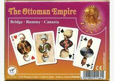 Ottoman Empire Playing Cards Amazing Non-Standard Double Deck by Piatnik New